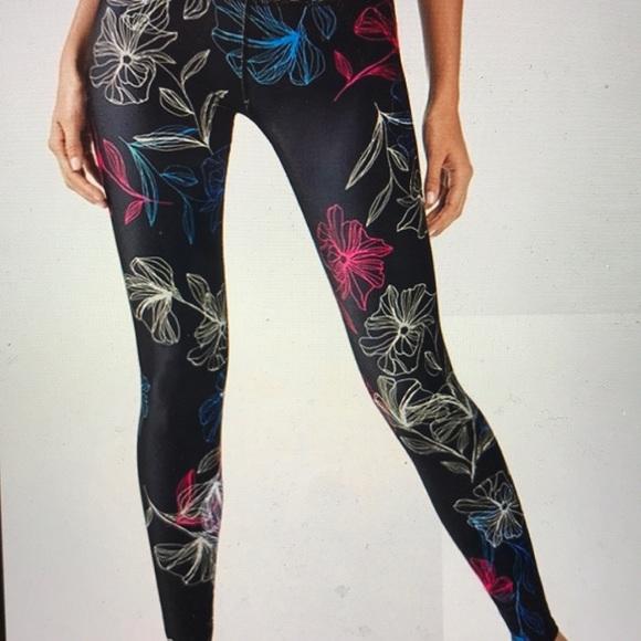 a06c80c832b149 Fabletics Pants | Salar Printed Powerhold Legging | Poshmark